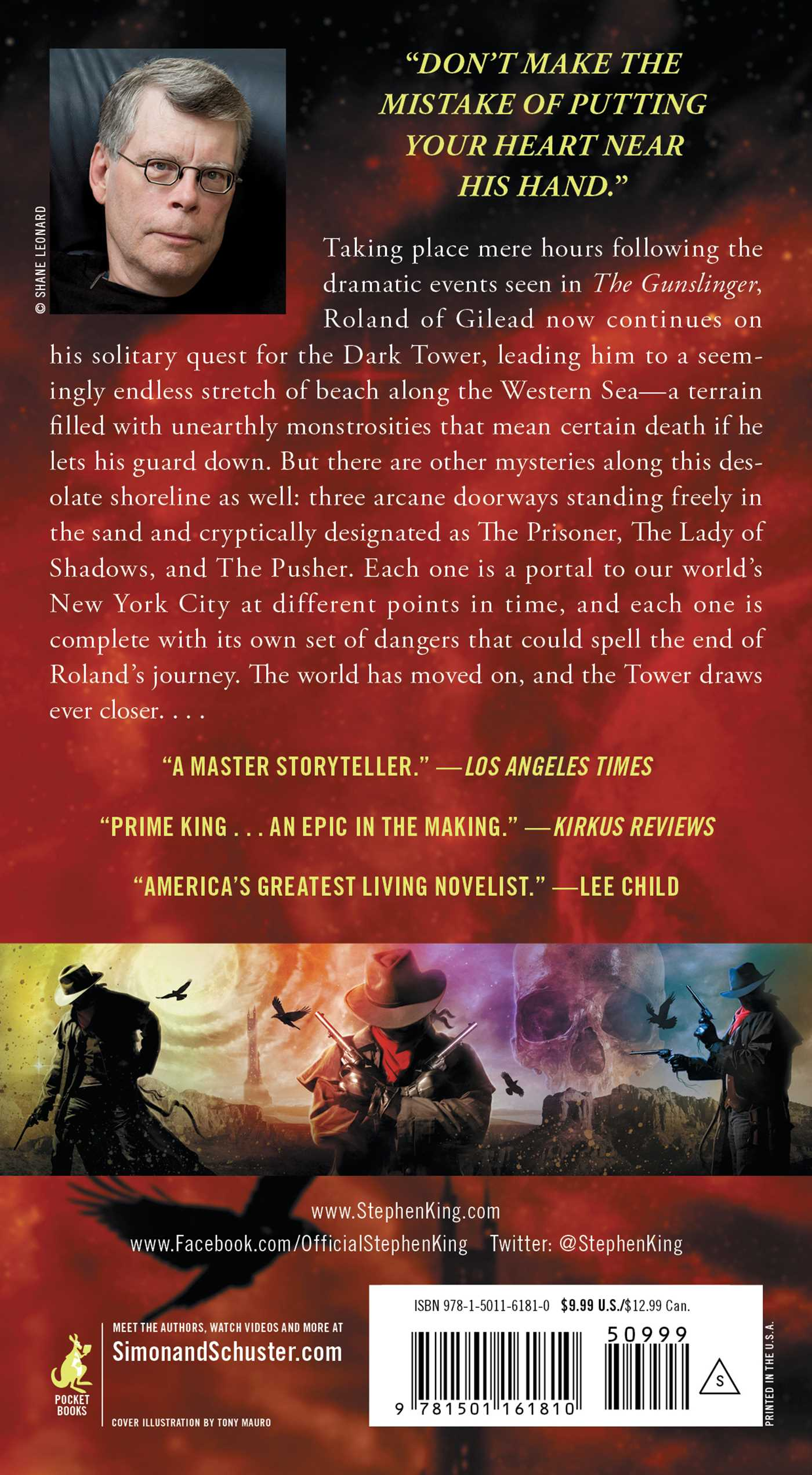 The dark tower ii 9781501161810 hr back