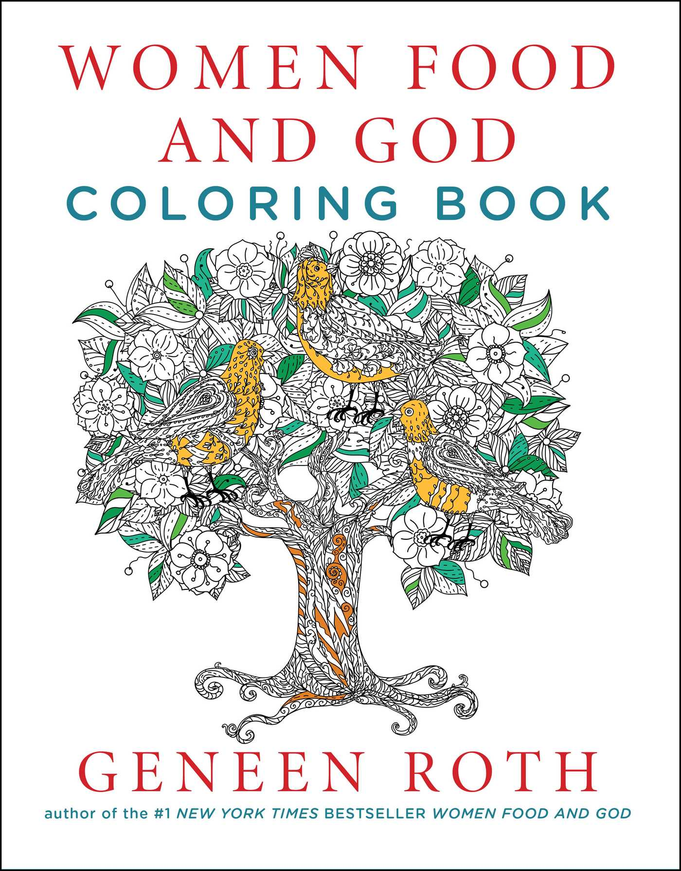 Women food and god coloring book 9781501161919 hr