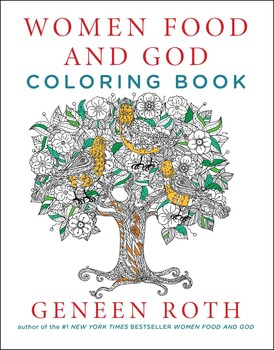 Women Food and God Coloring Book