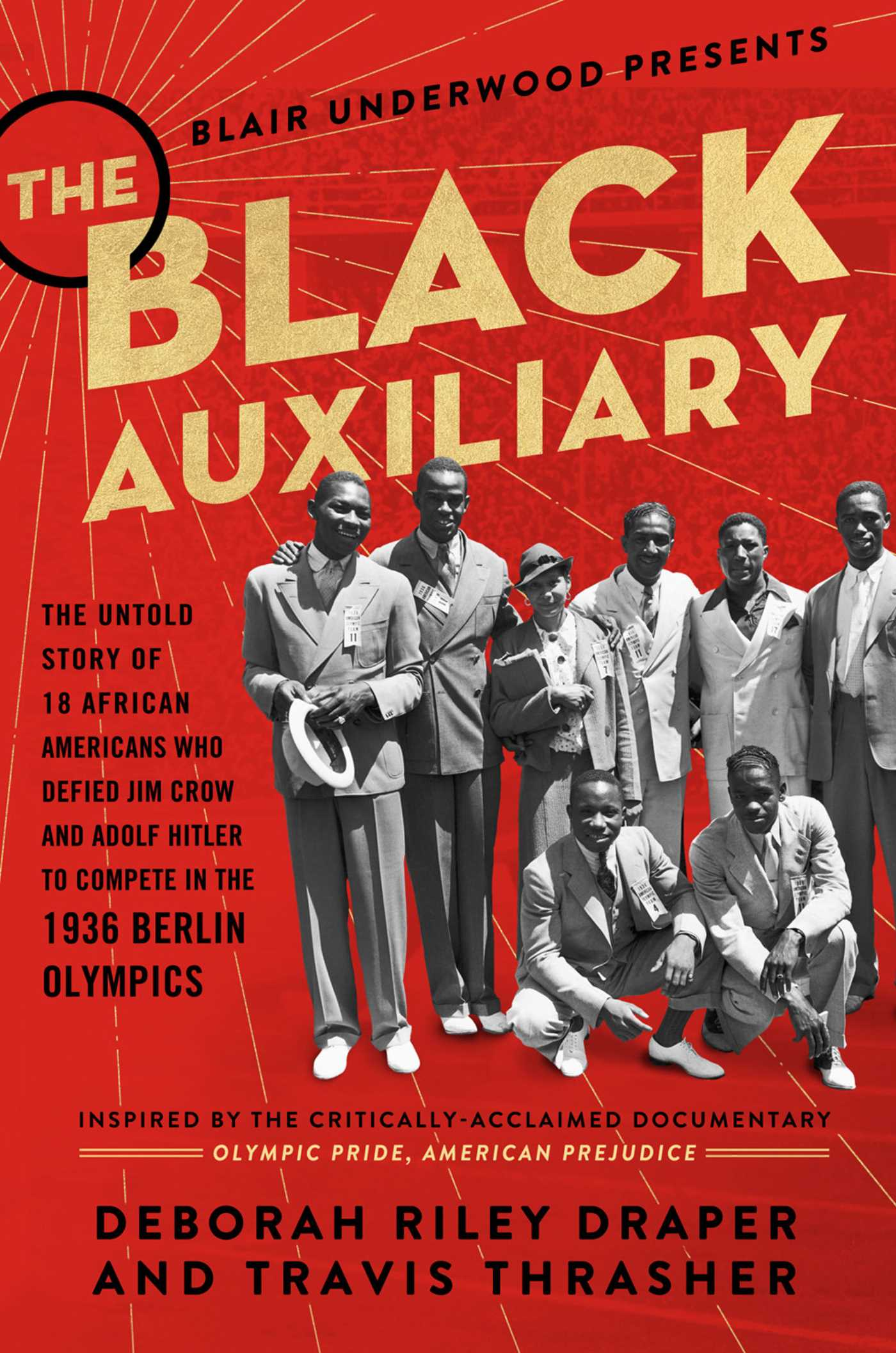 The black auxiliary 9781501162176 hr