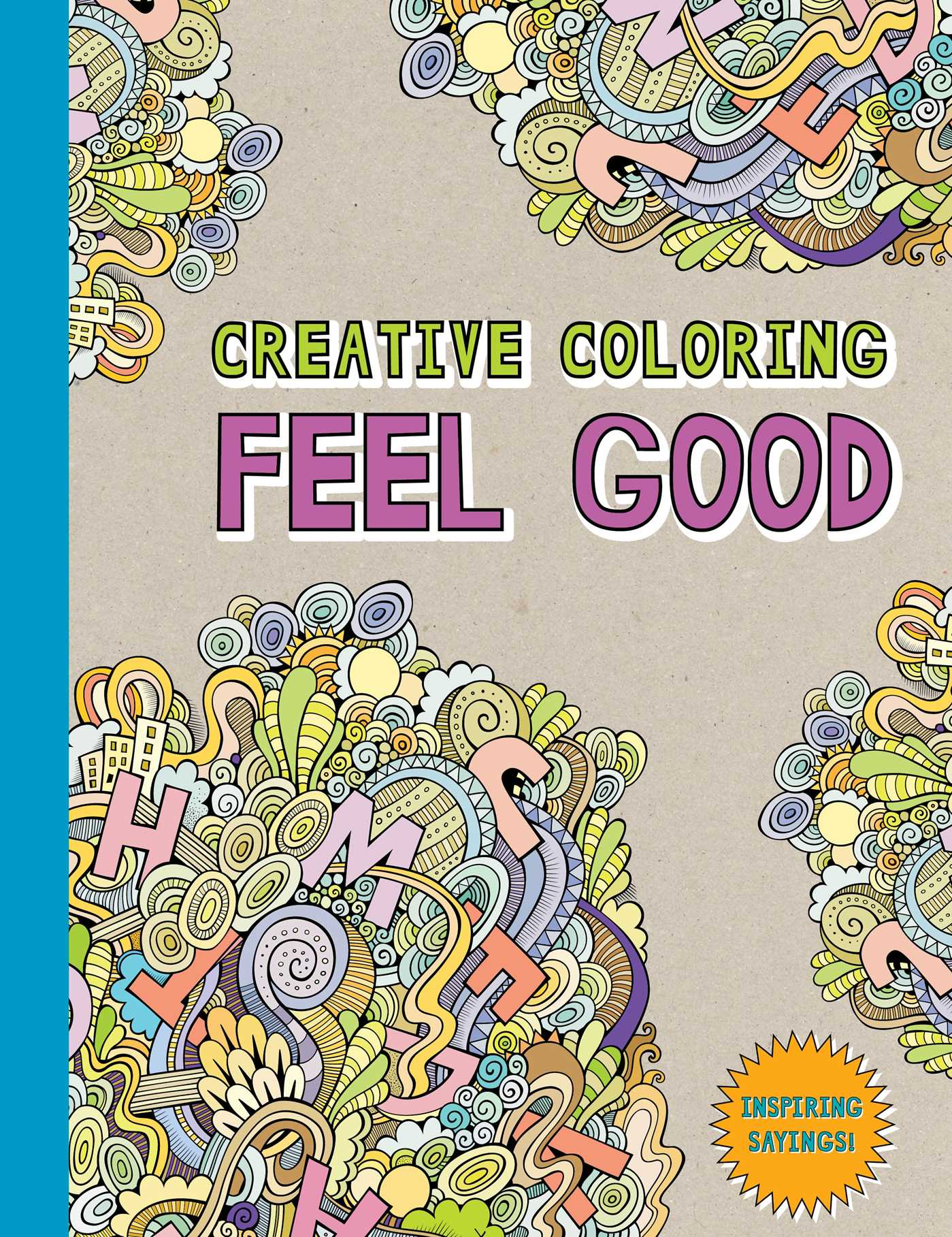 Creative coloring feel good 9781501162329 hr