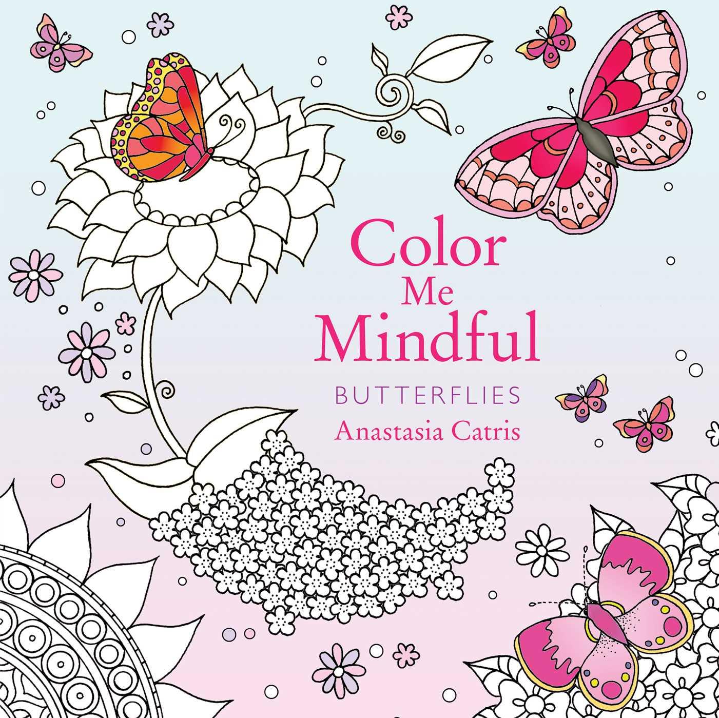Color me mindful butterflies 9781501162350 hr
