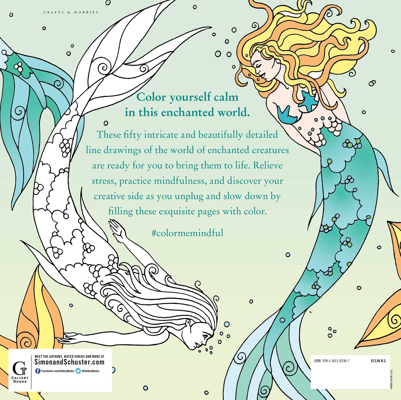 Color Me Mindful: Enchanted Creatures | Book by Anastasia Catris ...