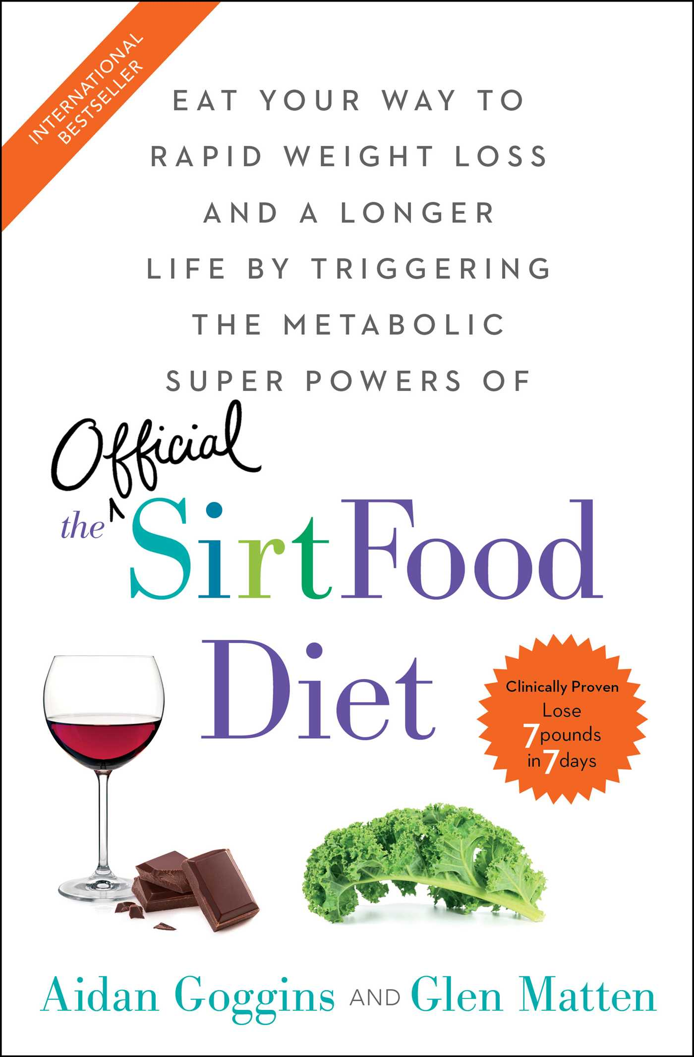 The sirtfood diet book by aidan goggins glen matten official the sirtfood diet 9781501163791 hr forumfinder Image collections