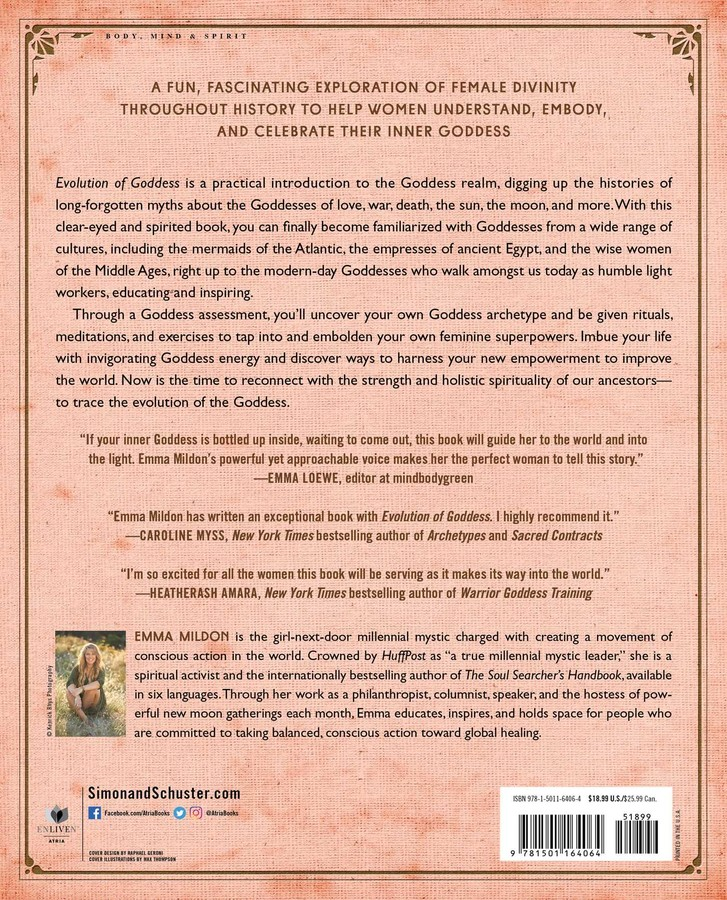 Evolution of Goddess | Book by Emma Mildon | Official Publisher Page