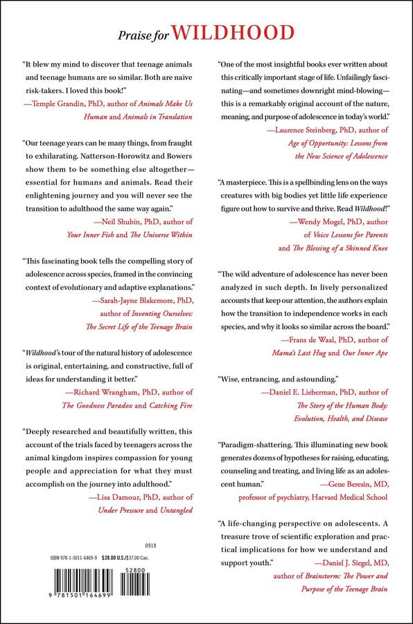 Wildhood | Book by Barbara Natterson-Horowitz, Kathryn