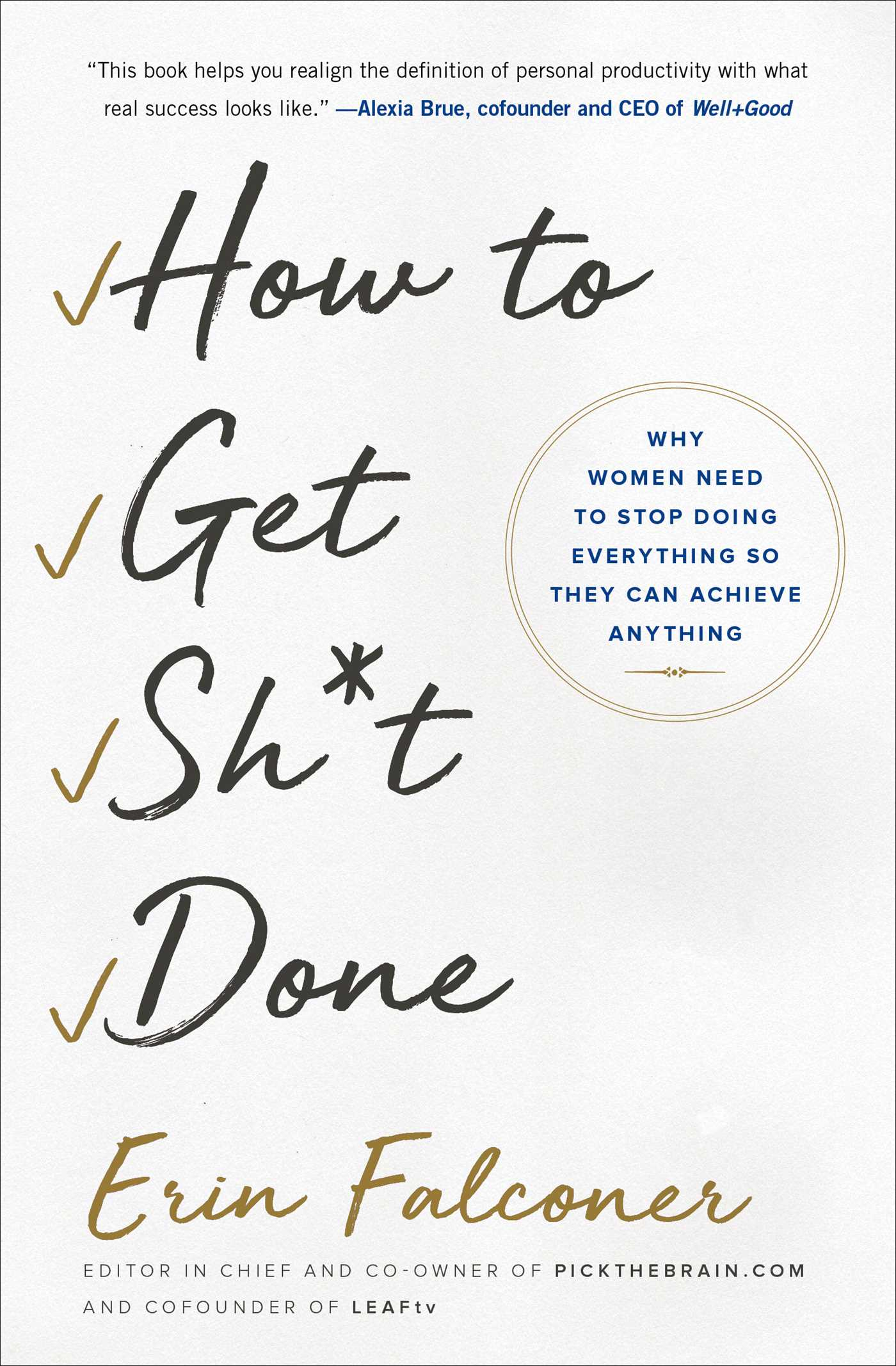 How to get sht done 9781501165795 hr