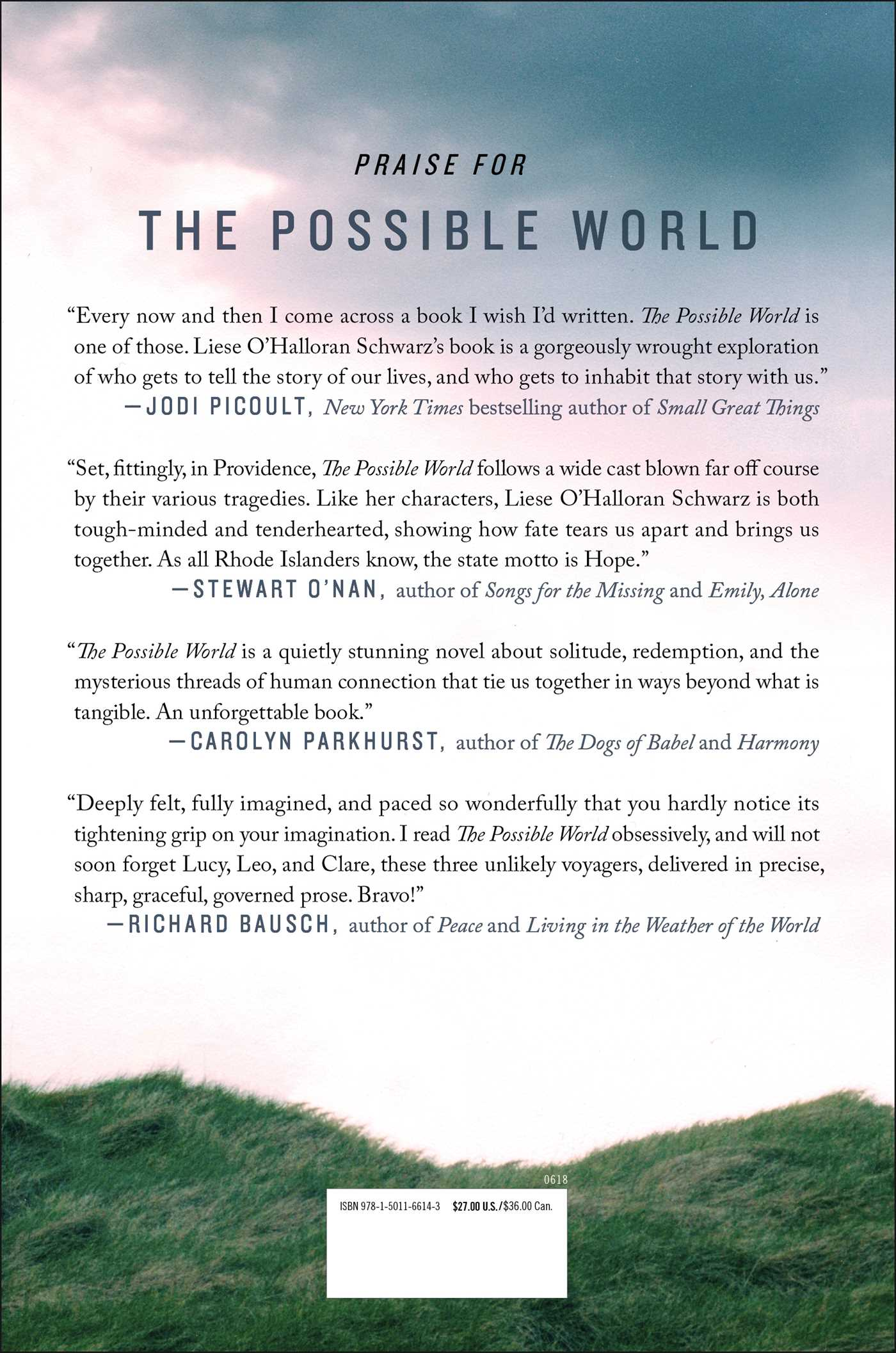 The possible world 9781501166143 hr back