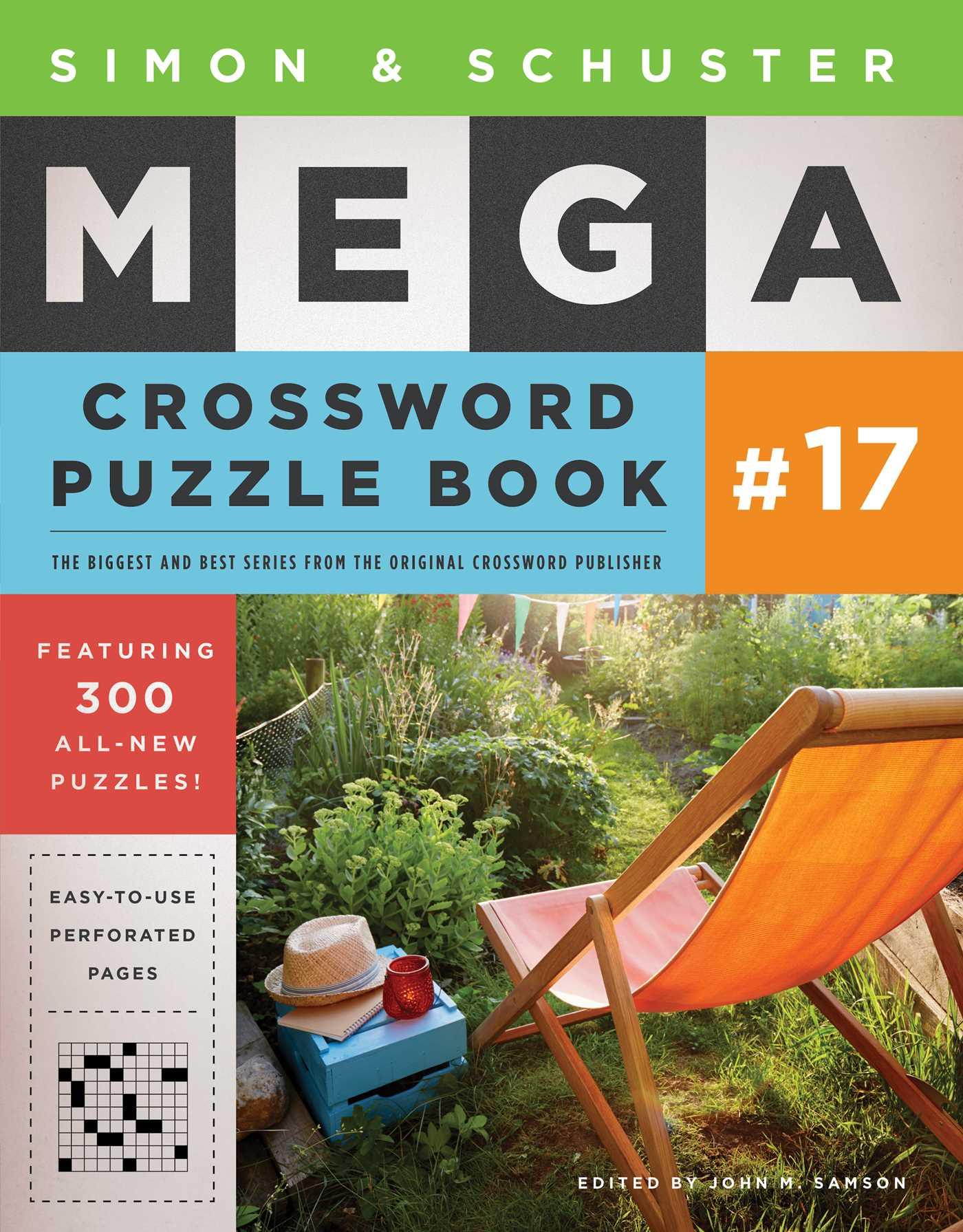 Simon schuster mega crossword puzzle book 17 9781501167935 hr