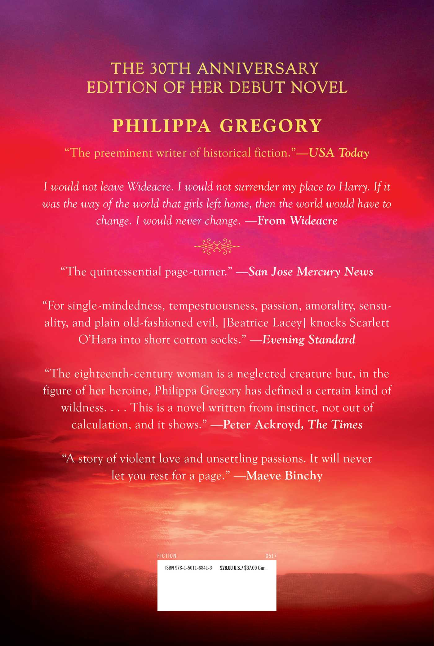 Wideacre | Book by Philippa Gregory | Official Publisher