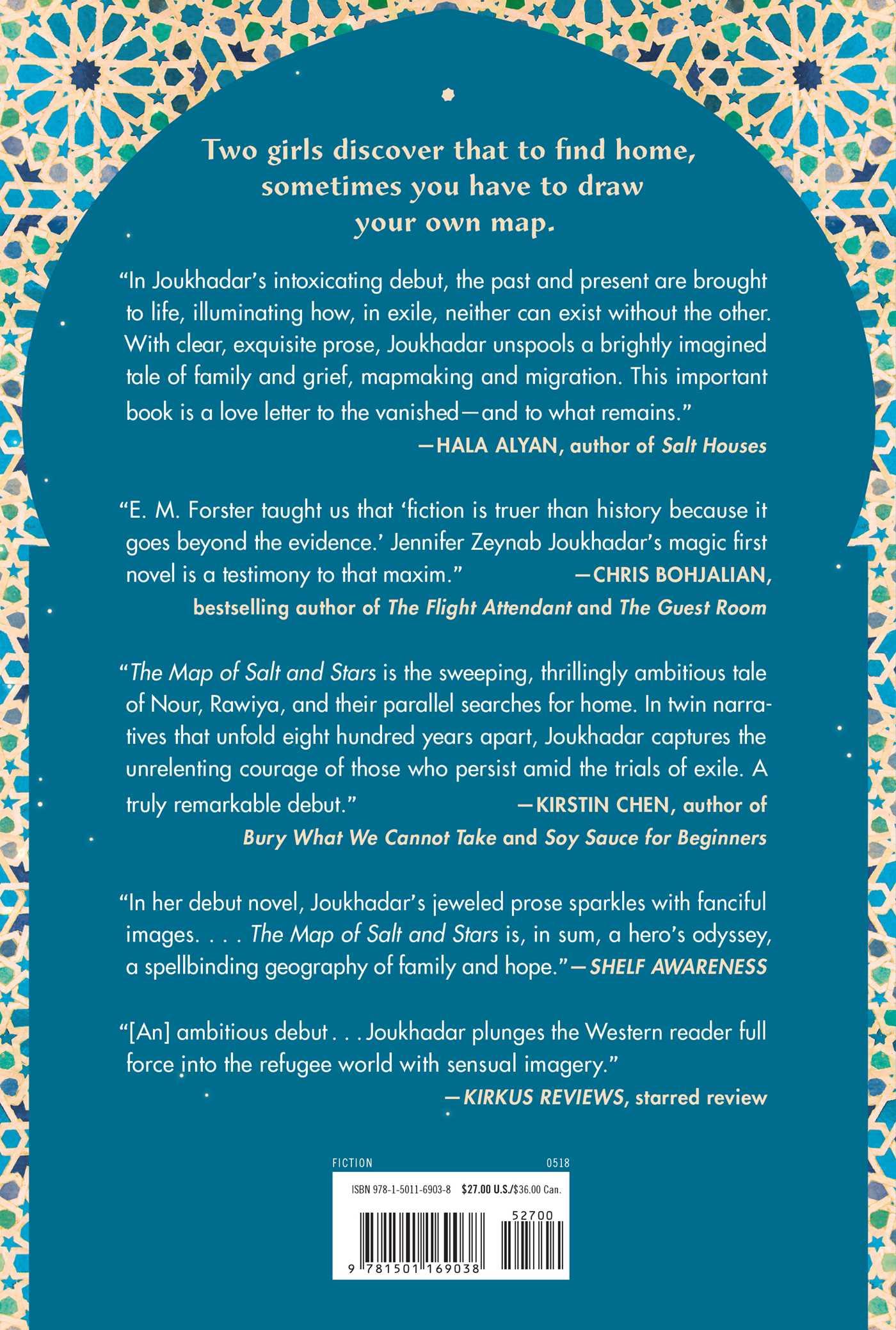 The Map of Salt and Stars | Book by Jennifer Zeynab Joukhadar ...