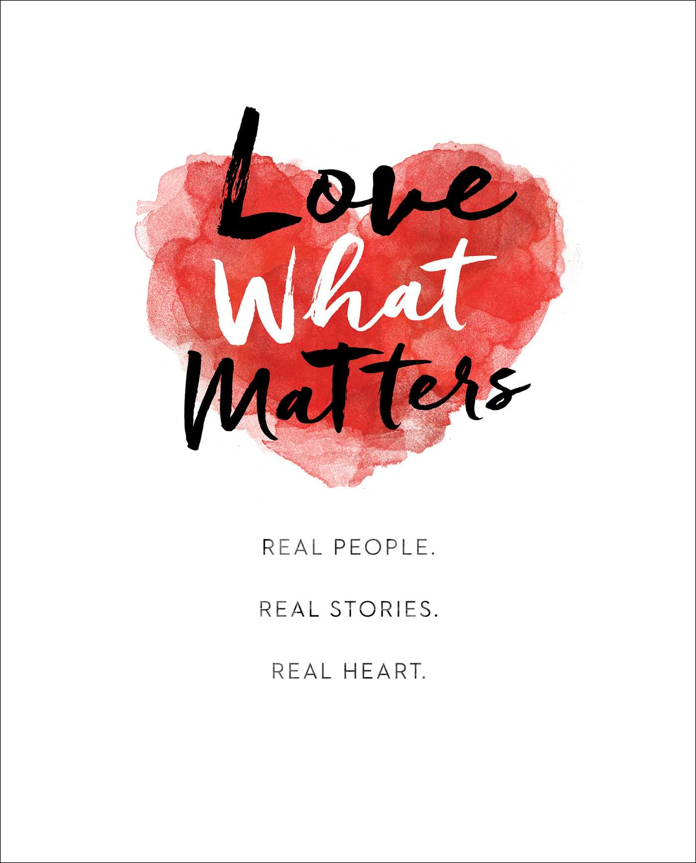 Love what matters 9781501169137 hr