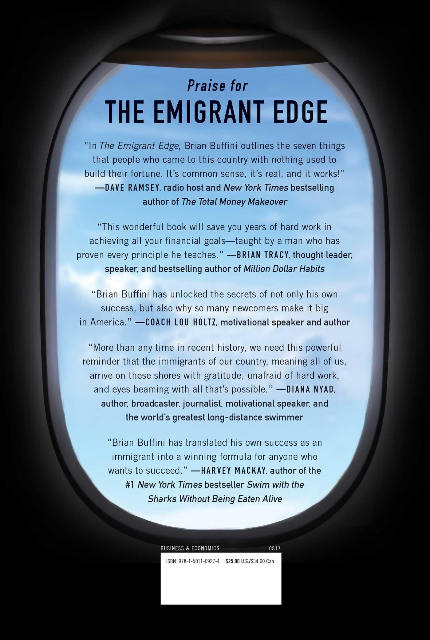 The emigrant edge 9781501169274 hr back