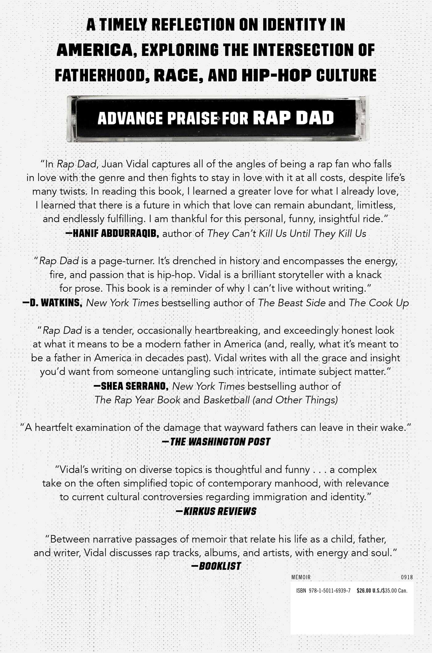 Rap dad 9781501169397 hr back