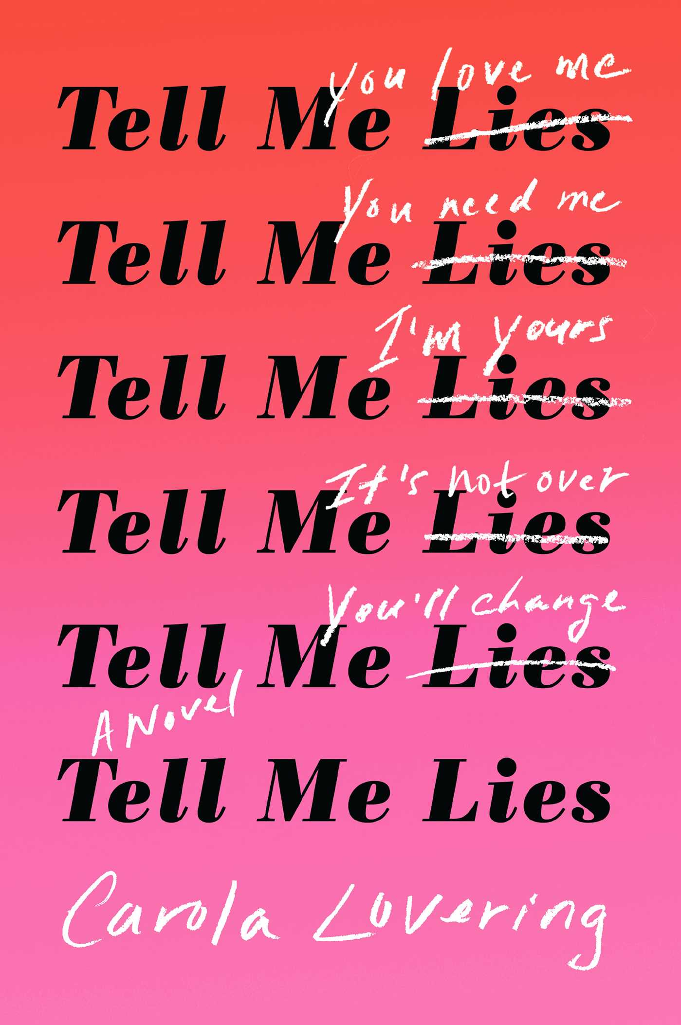 Tell me lies 9781501169649 hr