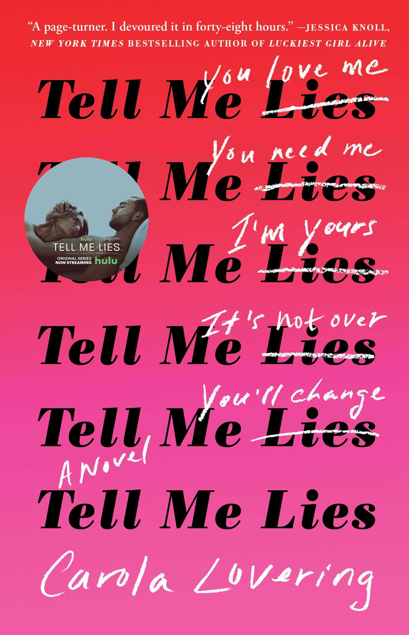 Tell me lies 9781501169656 hr