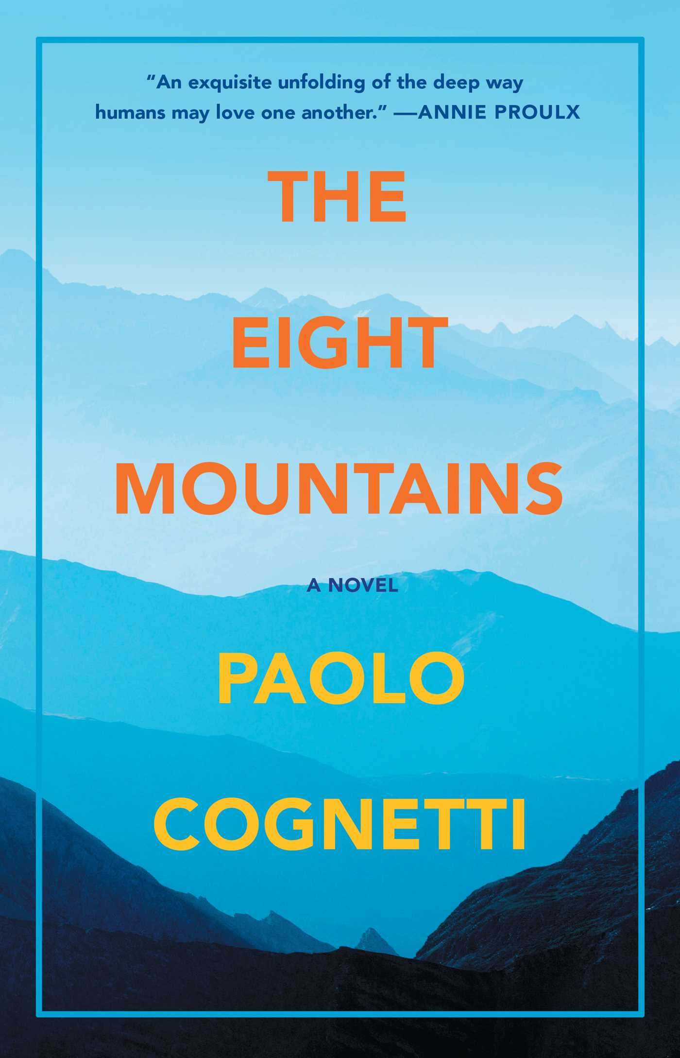 The eight mountains 9781501169908 hr