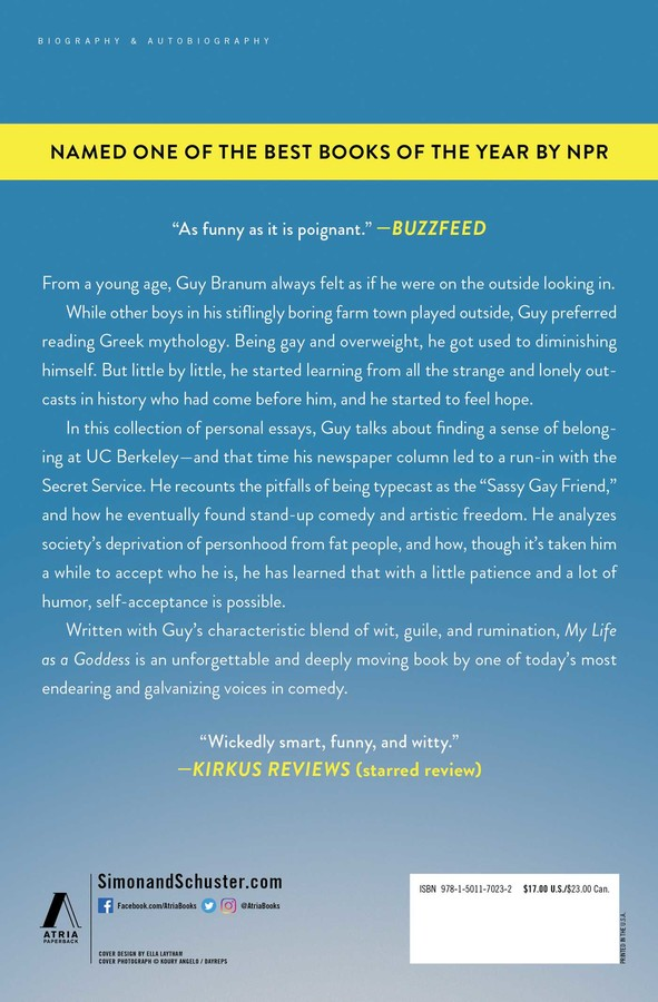 My Life as a Goddess | Book by Guy Branum, Mindy Kaling