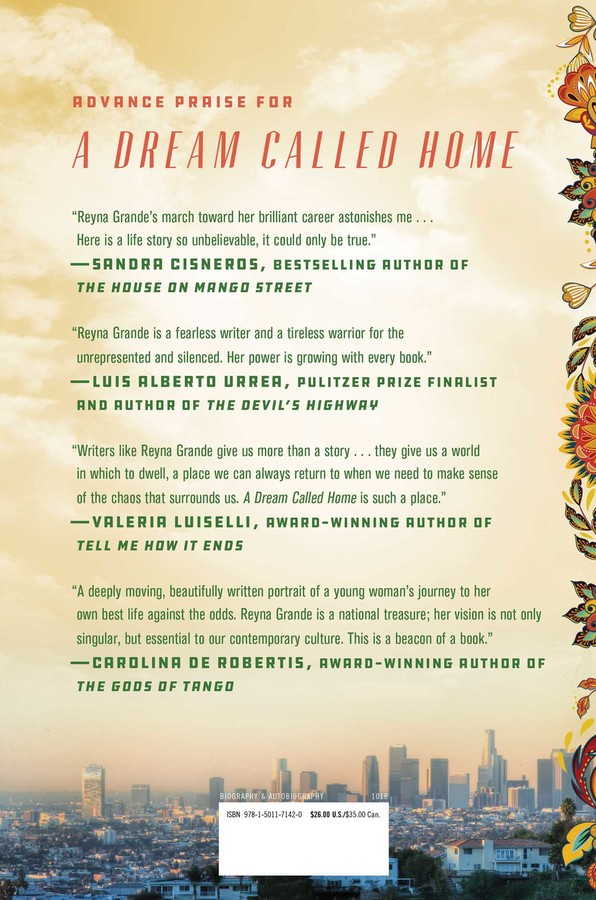 A Dream Called Home Book By Reyna Grande Official Publisher Page