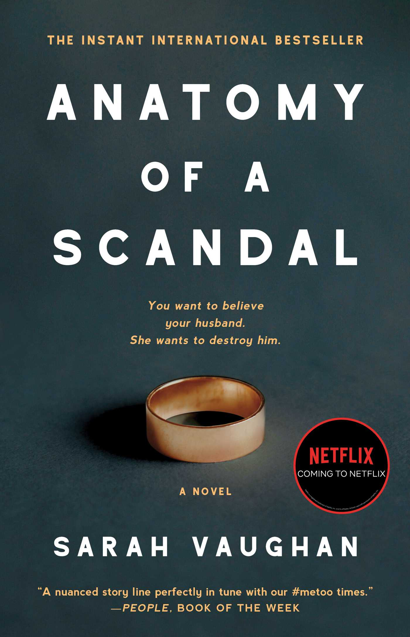 Anatomy of a scandal 9781501172175 hr ...