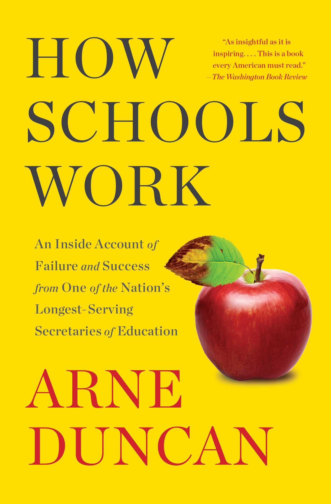 How schools work 9781501173066 hr