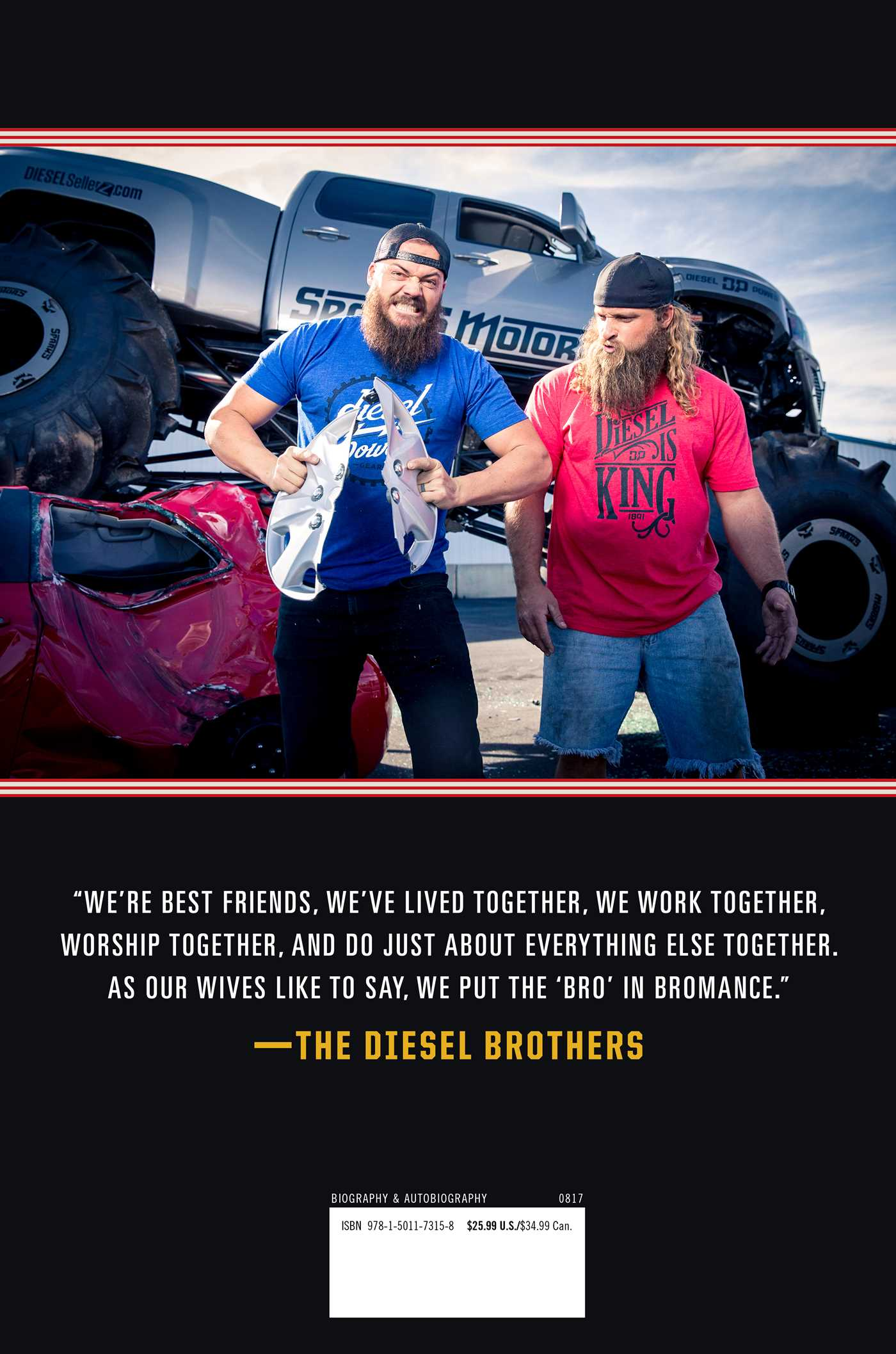 The Diesel Brothers Book by Heavy D Diesel Dave