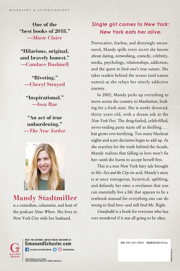 Unwifeable | Book by Mandy Stadtmiller | Official Publisher
