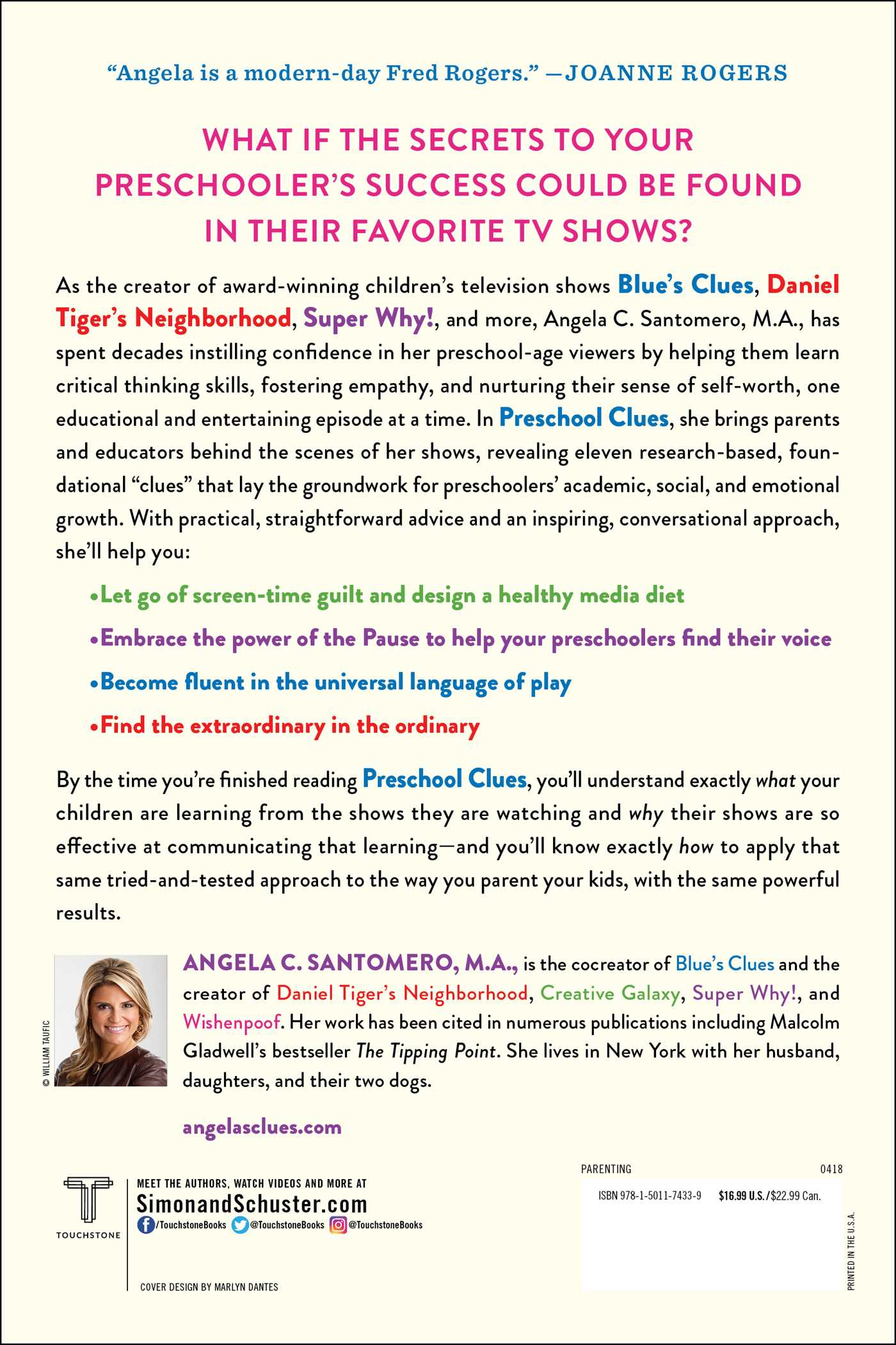 Preschool Clues | Book by Angela C  Santomero, Deborah Reber