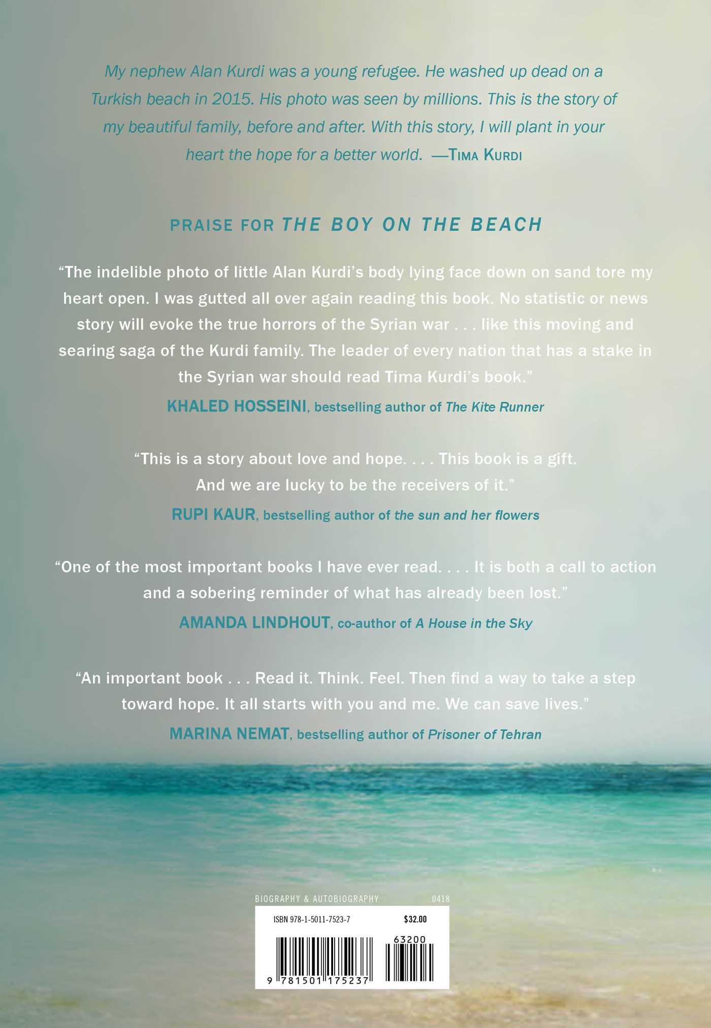 The boy on the beach 9781501175237 hr back
