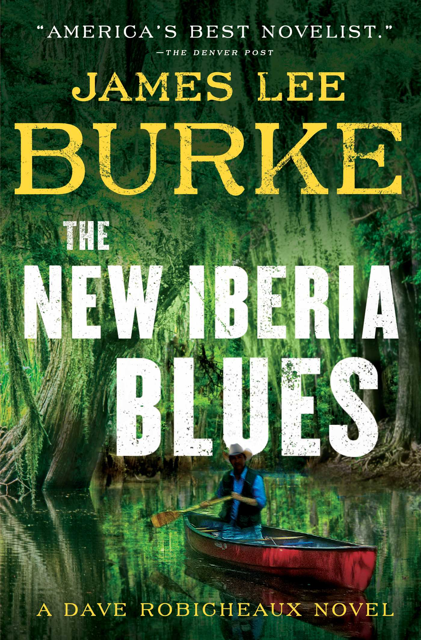 Book Cover Image (jpg): The New Iberia Blues
