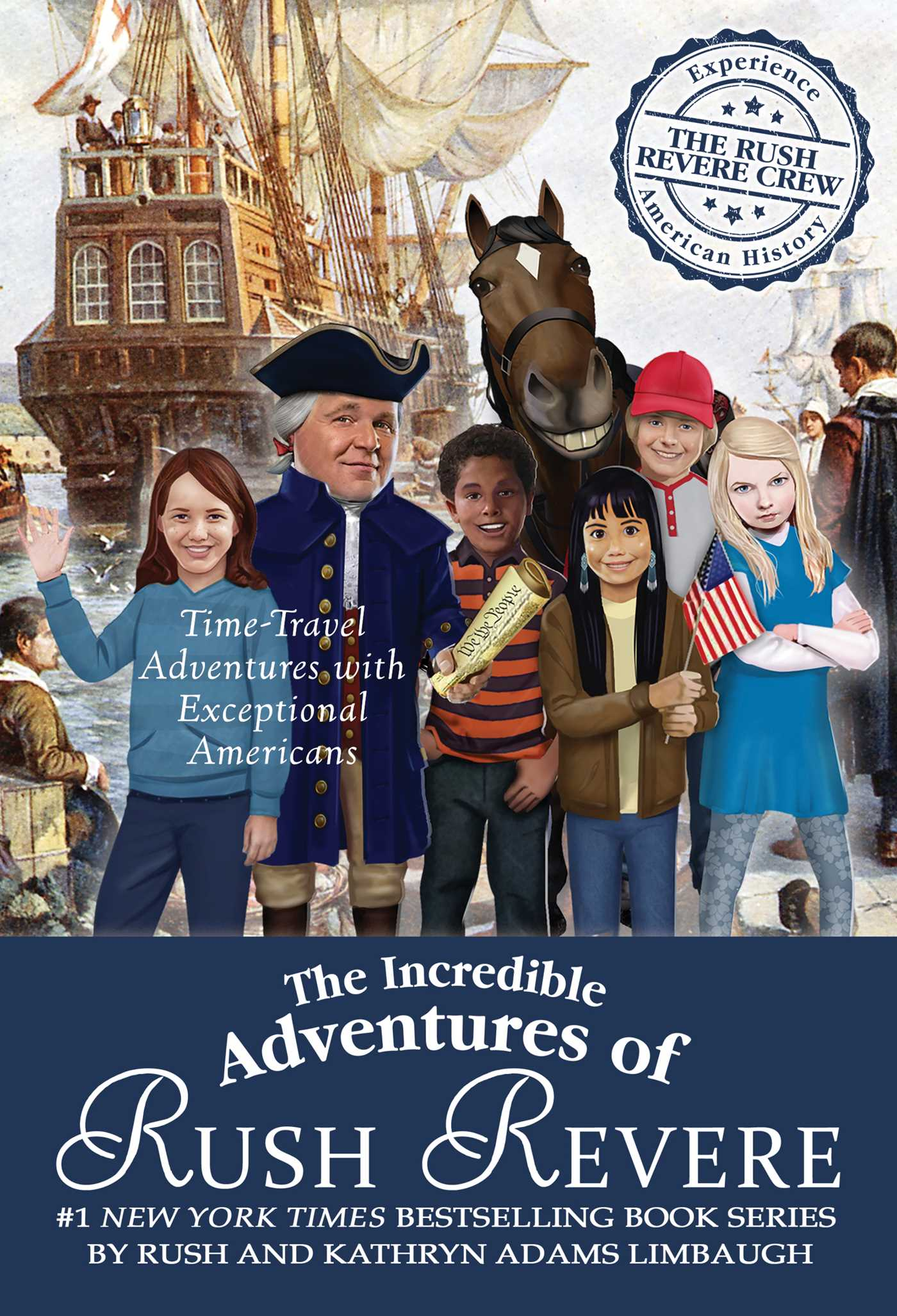 The incredible adventures of rush revere 9781501179990 hr
