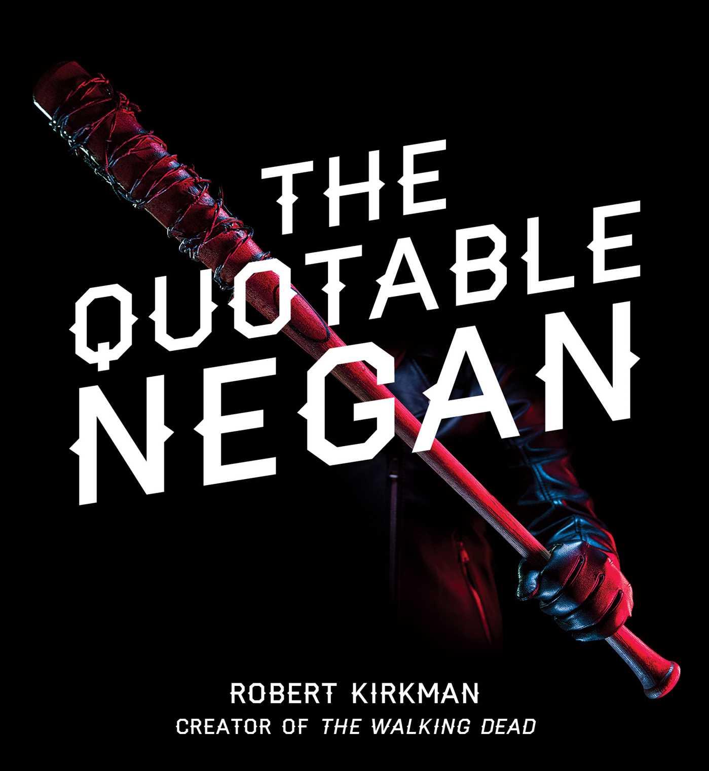 The quotable negan 9781501181382 hr