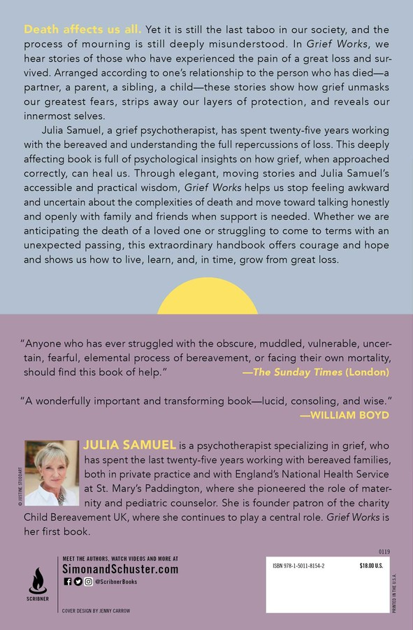 Grief Works   Book by Julia Samuel   Official Publisher Page   Simon