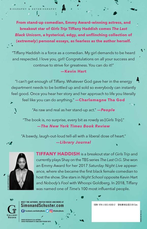The Last Black Unicorn | Book by Tiffany Haddish | Official