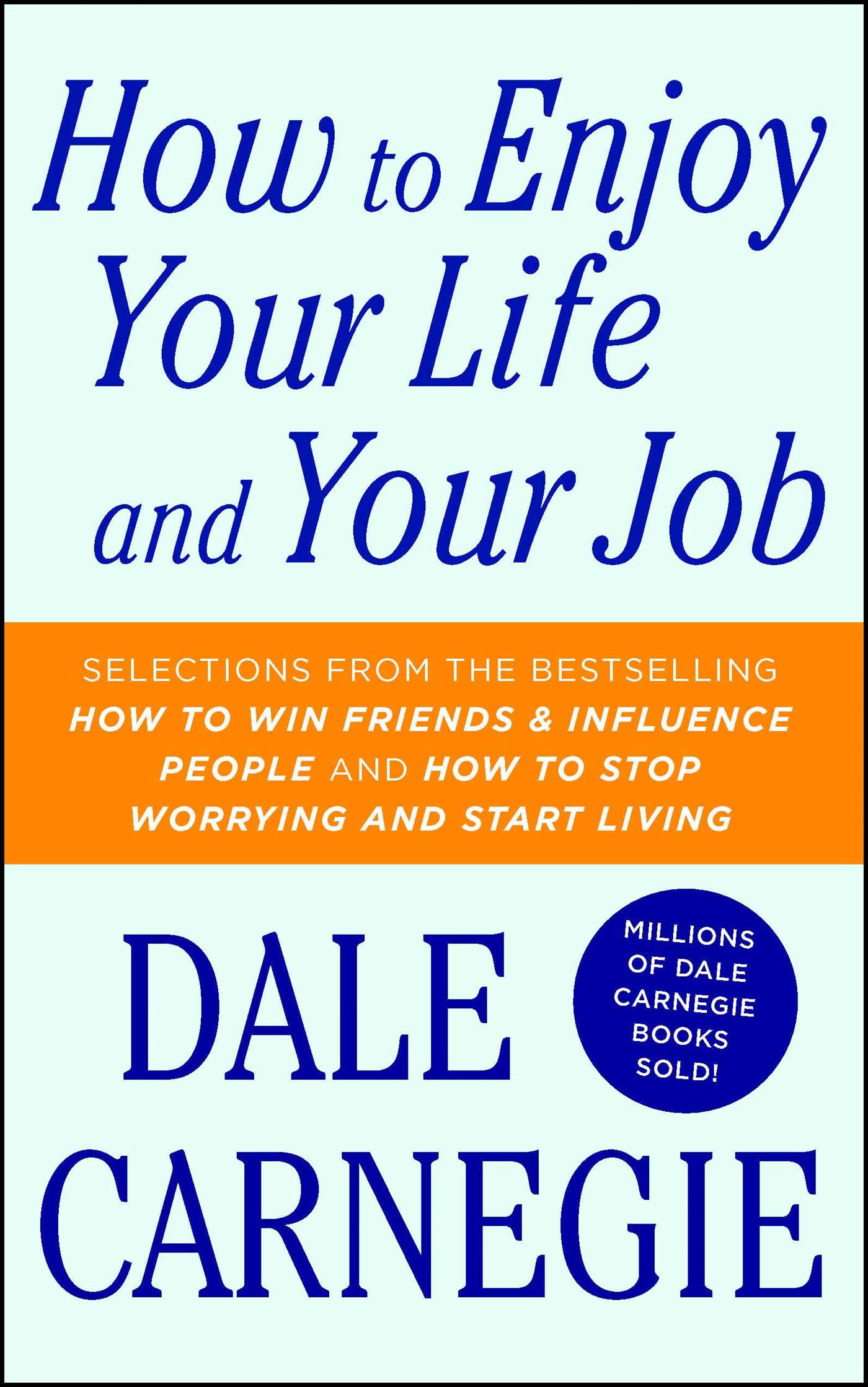 How to enjoy your life and your job 9781501181955 hr