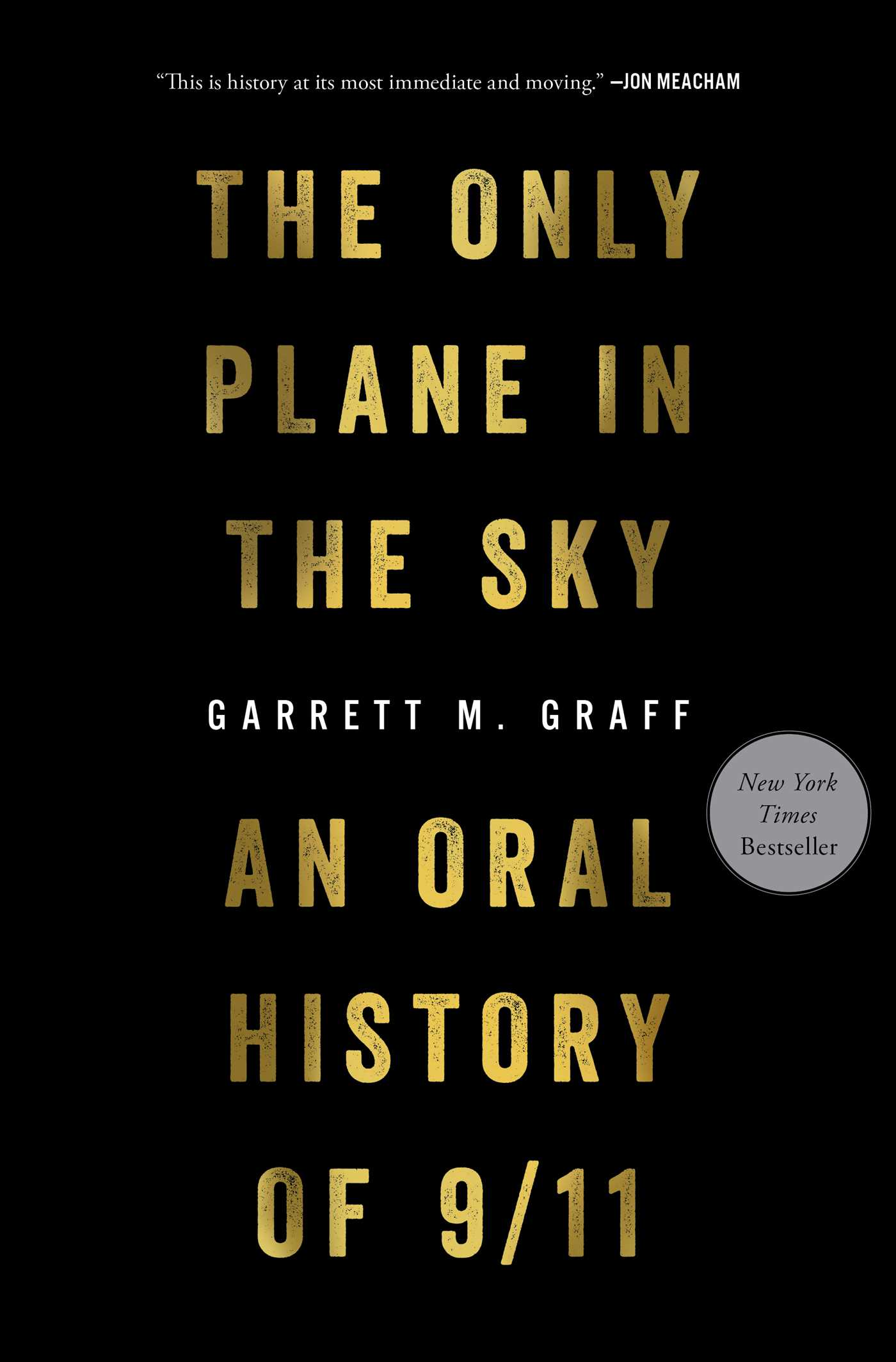 The Only Plane in the Sky | Book by Garrett M  Graff