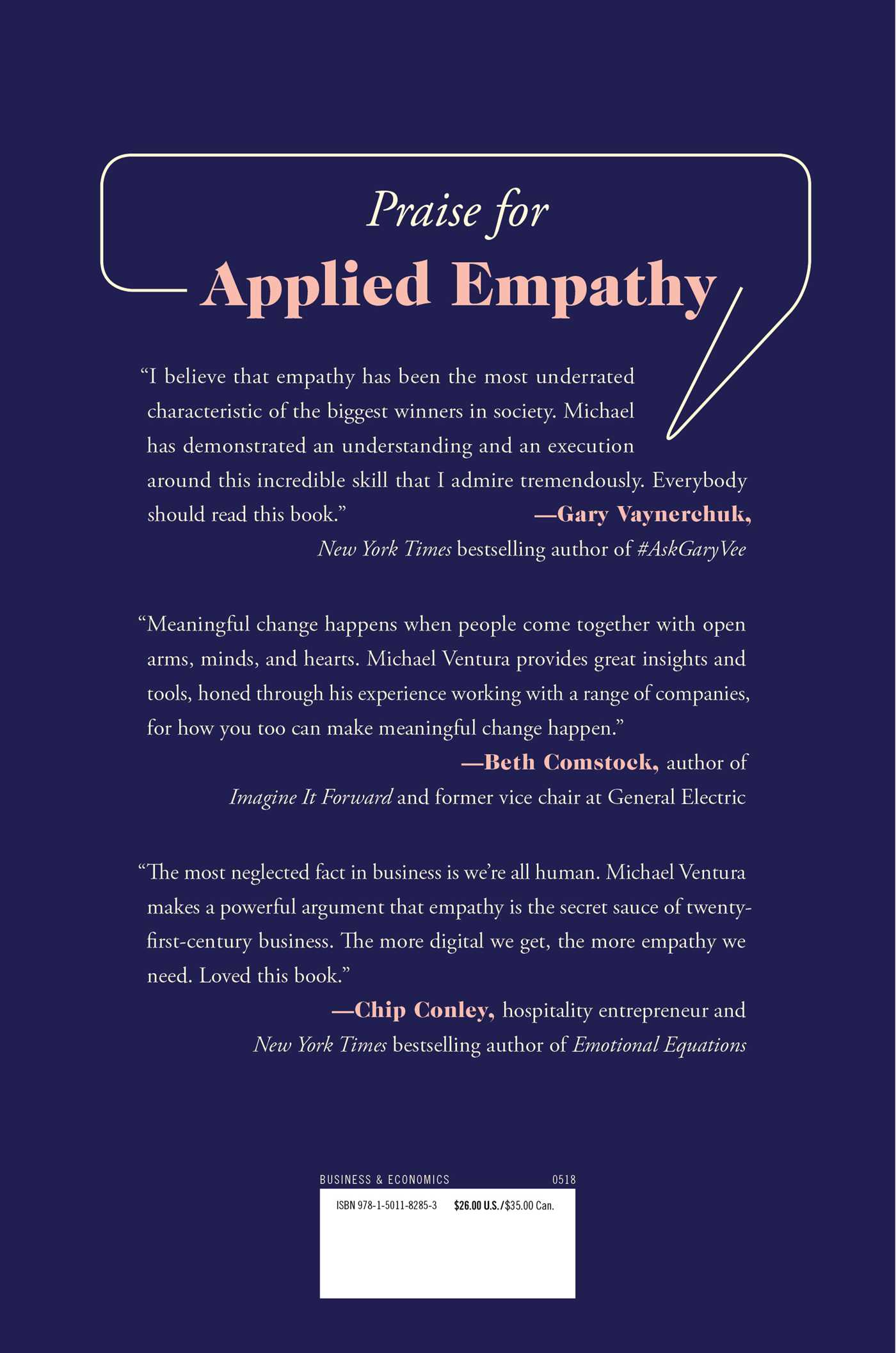 Applied empathy 9781501182853 hr back