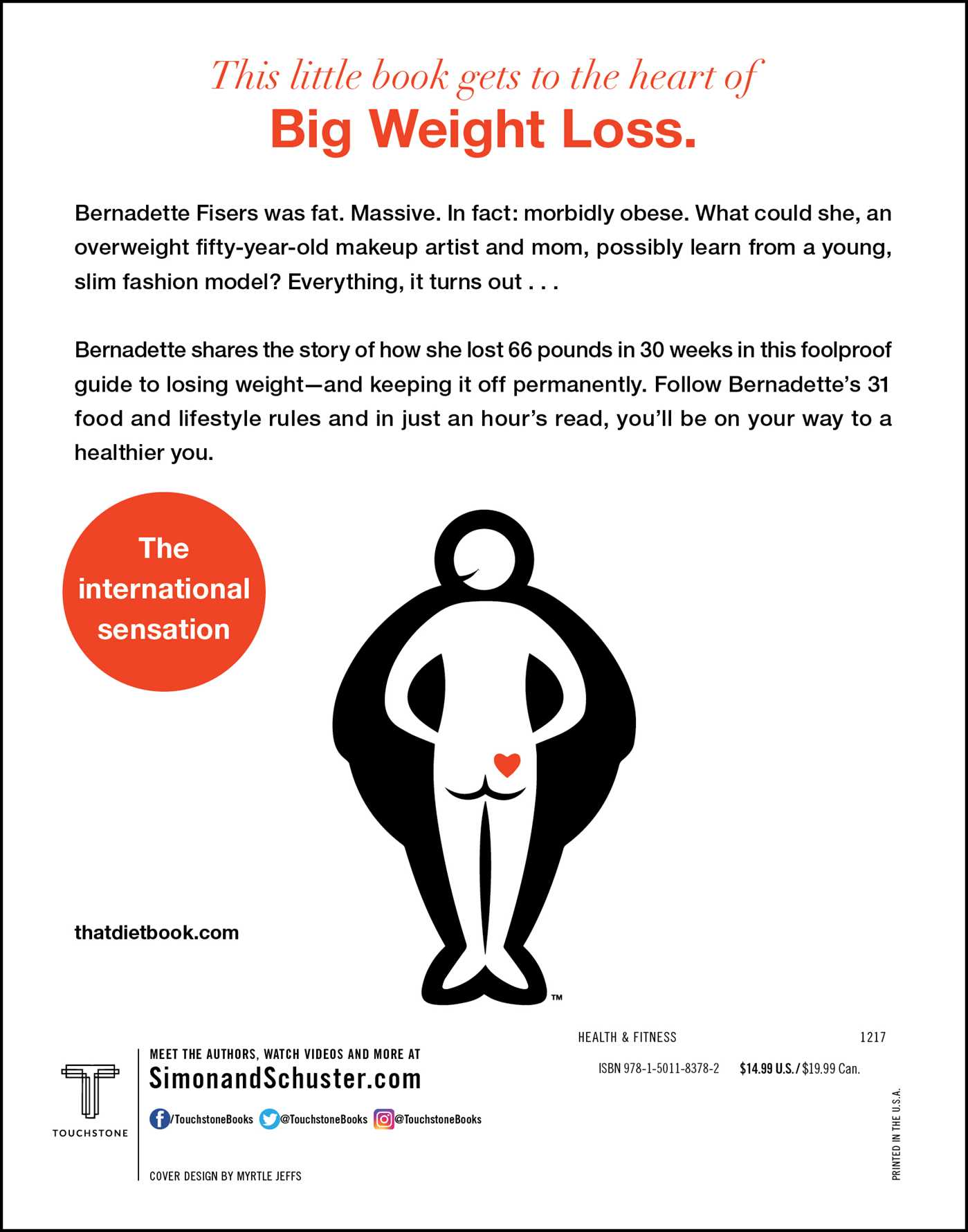 The little book of big weight loss 9781501183782 hr back