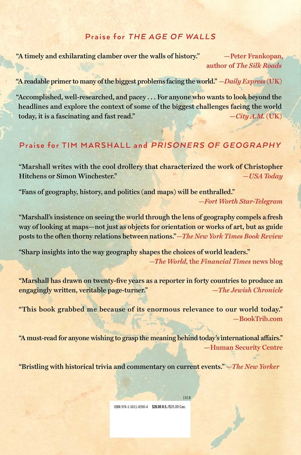 The Age of Walls | Book by Tim Marshall | Official Publisher Page