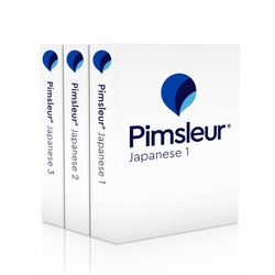 Pimsleur Japanese Levels 1-3 CD