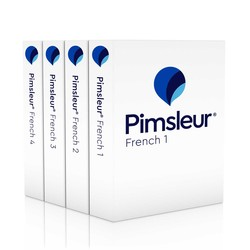 Pimsleur French Levels 1-4 CD