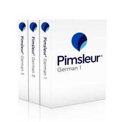 Pimsleur German Levels 1-3 CD