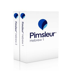 Pimsleur Hebrew Levels 1-2 CD