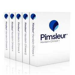 Pimsleur Chinese (Mandarin) Levels 1-5 CD