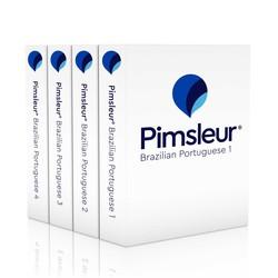 Pimsleur Portuguese (Brazilian) Levels 1-4 CD