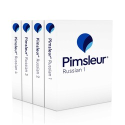 Pimsleur Russian Levels 1-4 CD