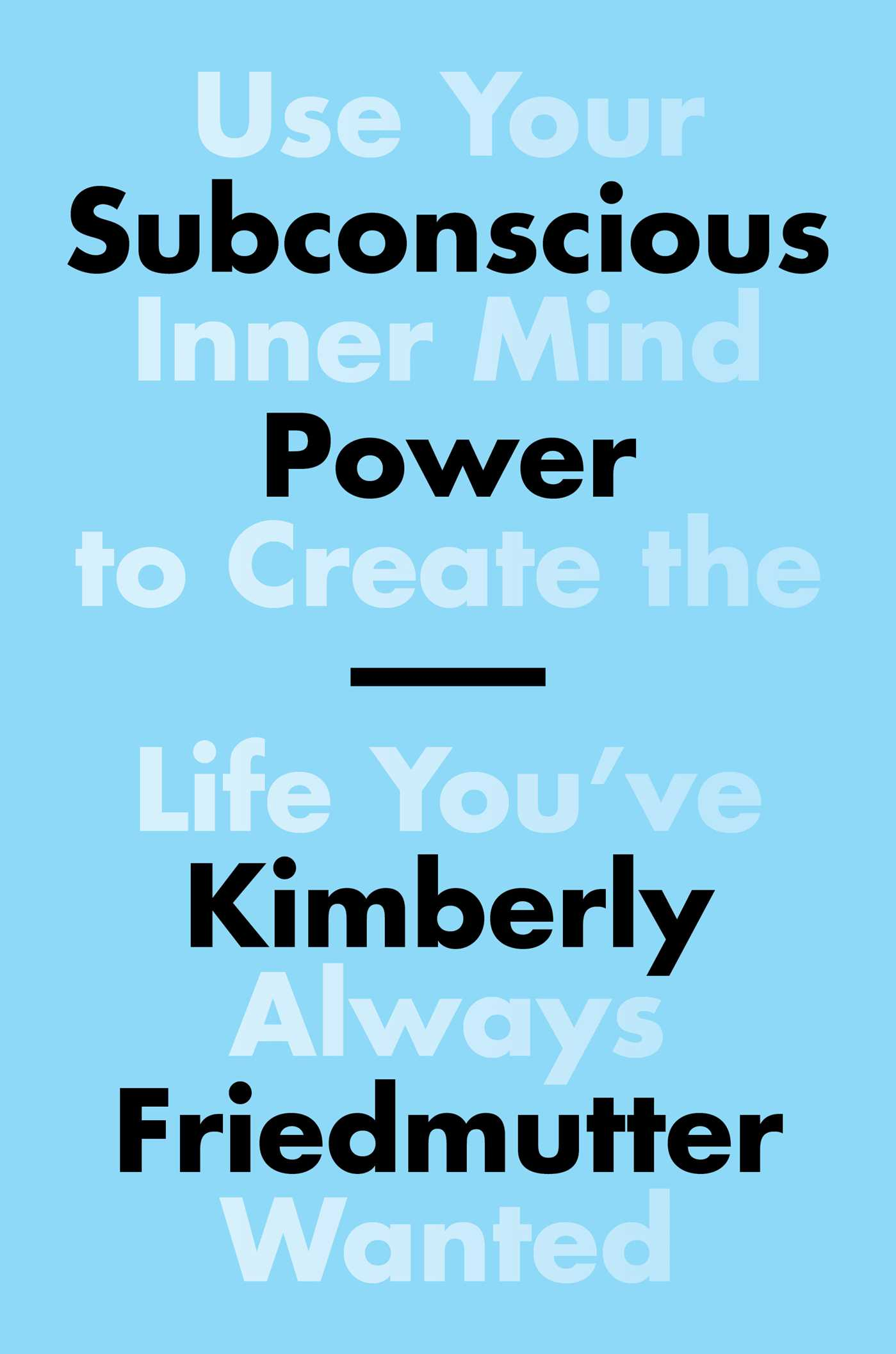 Subconscious power 9781501187070 hr