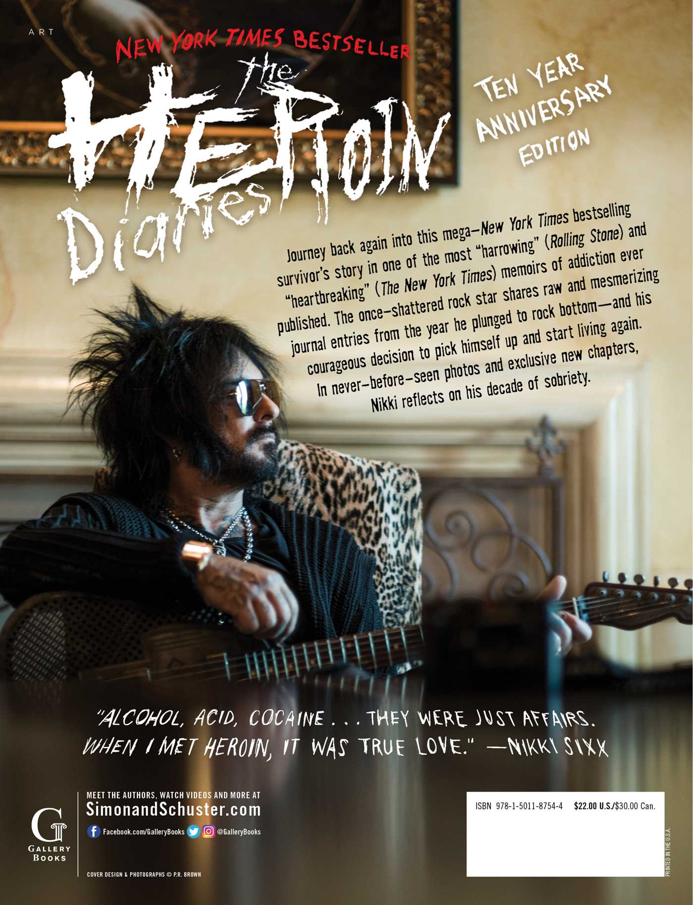 The heroin diaries ten year anniversary edition 9781501187544 hr back