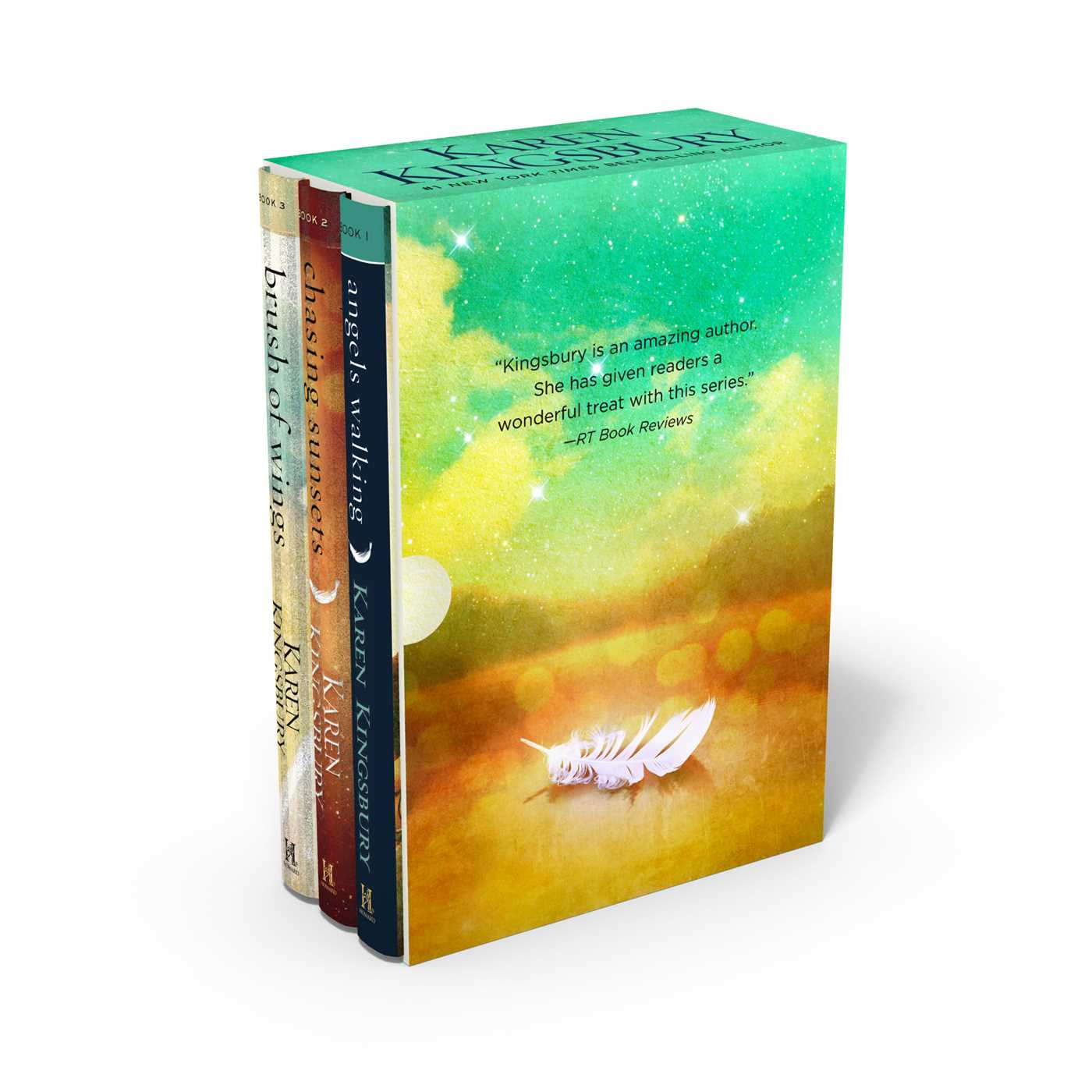 Angels walking box set 9781501189920 hr