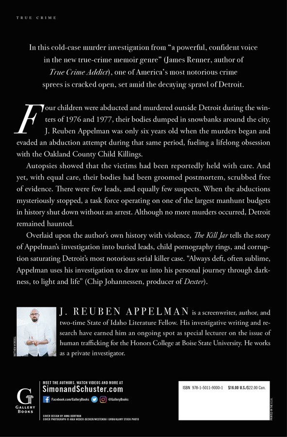 The Kill Jar | Book by J  Reuben Appelman | Official